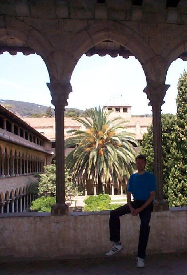 ペドラルベス修道院にまた行ってきました。カタルーニャ地方で一番きれいな中庭回廊だと思います。<br /><br />バルセロナ、グラシア通りから22番バス(40分)、または Plaza de Catalunya から FGC 電鉄に乗って、 Reina Elisenda 駅で降ります。