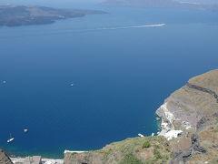 あこがれのサントリーニ島へ (エーゲ海プカプカ紀行 7)