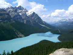 カナダの旅(2)・・大自然を満喫、カナディアンロッキーを訪ねて