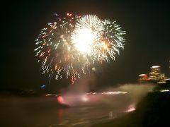 カナダの旅(3)・・建国記念日のナイアガラの滝を訪ねて