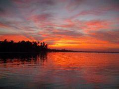 Boca Chicaのビーチ