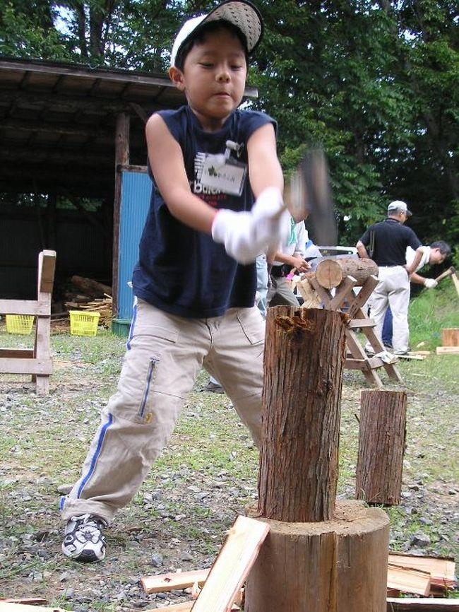 埼玉に6箇所あるげんき村。水中昆虫観察と天体望遠鏡、植物採集ハイキングに木工、林業体験にキャンプファイヤーと盛り沢山のプログラムで食事つき。親子3人で合計2万円でした。