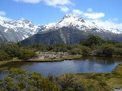 ニュージーランドドライブ&ハイキング(3) テアナウ滞在でキーサミットハイキング 2003年11月