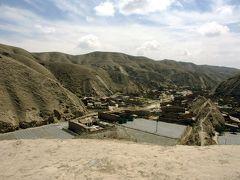 乾いた土地と戦う皋蘭県羅官村の人々