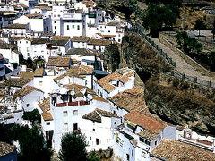 アンダルシア・白壁の家々その1(セテニル)