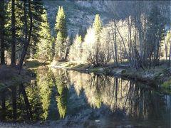 冬間近のヨセミテ国立公園