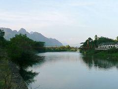アジア・バックパッカーの旅【36】 ラオスの桂林 バンビエンの風景