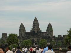 カンボジアの旅(1)・・「天上の楽園」を目指したアンコールワット遺跡を訪ねて