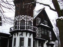 雪のポーランド一人旅(6)プロムニッツェの城館ホテル