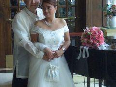 フィリピンで友人の結婚式(1/6到着・支度編)