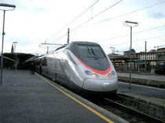 ミラノからフィレンツェにユーロスターに乗りました
