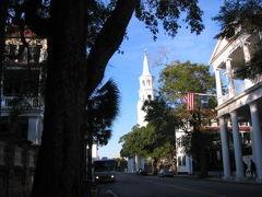 歴史の町チャールストンとその周辺