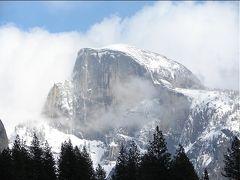 雪の日のヨセミテ