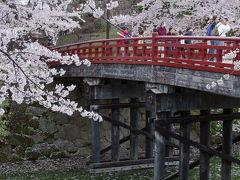 弘前城の桜 2004年4月