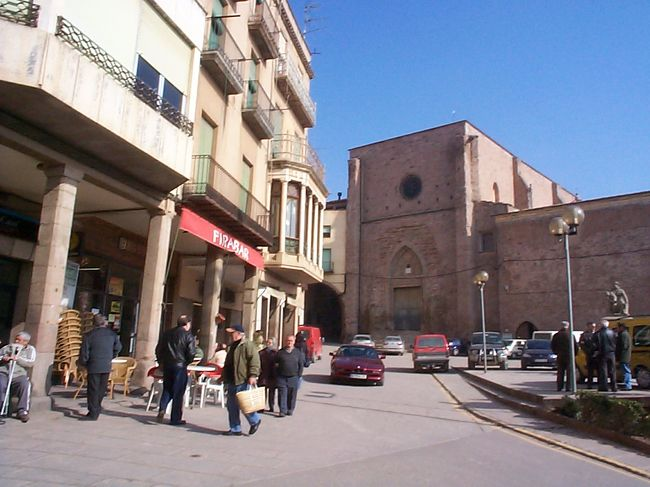 2月にカタルーニャ地方のカルドナに行ってきました。バルセロナから長距離バスに乗って、2時間ぐらいかかりました。