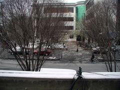 雪の朝・敦煌の寒気を味わう
