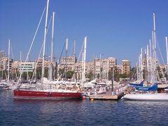 バルセロナ市内観光、ポートベイ港( Port Vell )