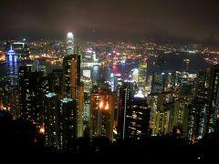 爺ぃ、3回目の香港紀行・其の2(2)~山頂公園からの香港島夜景~