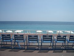 久々のビーチ@南仏ニース。ウィーン出発からニース1日目。