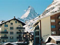 マッターホルンとツェルマット、豪快スキー体験1990