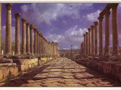 ノスタルジック中近東: ヨルダン 「ジェラシュ遺跡」