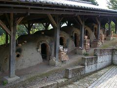 益子焼を訪ねる旅、森の中のレストランでランチ。