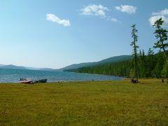 静かなるフブスグル湖の景色 1