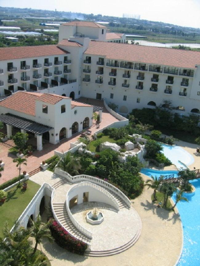 旦那の両親と沖縄旅行★<br />今回は本島・中部&南部の観光。<br />ホテルはアリビラのプラシエンテ・ツイン♪