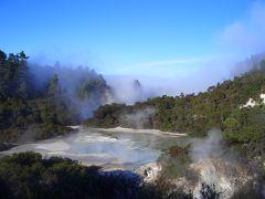ニュージーランド北島ドライブ(3) ロトルア編 2006年7月