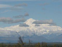 アラスカの旅(1)・・氷河クルーズと北米最高峰マッキンリーを訪ねて