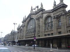 パリ北駅(NORD)のタリス乗車