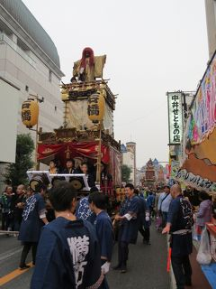 佐倉市散策(2)・・江戸時代から続く、佐倉の秋祭りを訪ねて