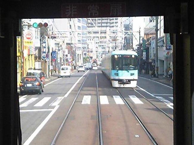所用で山陽方面へ行った帰りに、「スルッとKANSAI 2Dayチケット」を使って関西のケーブルカー巡りをしてきた。<br /><br />京津線は京都と大津を結ぶ私鉄路線。<br />用途的には都市間電車・通勤電車だが、その路線は非常にユニーク。<br />浜大津を出た電車は、「路面電車」として路上を走り、「登山電車」として60‰(!!)の急勾配で峠を越え、「地下鉄」として京都市内に乗り入れる。<br />まさに日本版シュタットバーン、現代版インターアーバンだ。