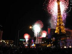 米国ラスベガス/あと1ヶ月、ラスベガスのカウントダウン花火(観賞スポット)