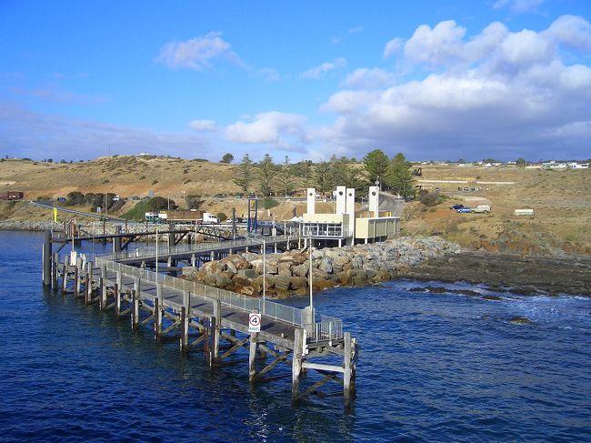 アデレード→メルボルン(1) カンガルー島までフェリーで移動編 2006年11月