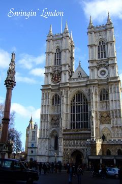 Swingin' London 青空と雨の1dayロンドン !