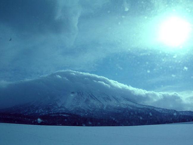 三連休で北海道ニセコへ。天気予報では大荒れの模様でした。