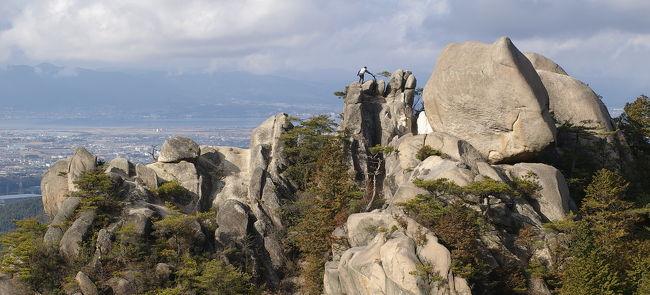 1月に、湖南アルプスに登ります。