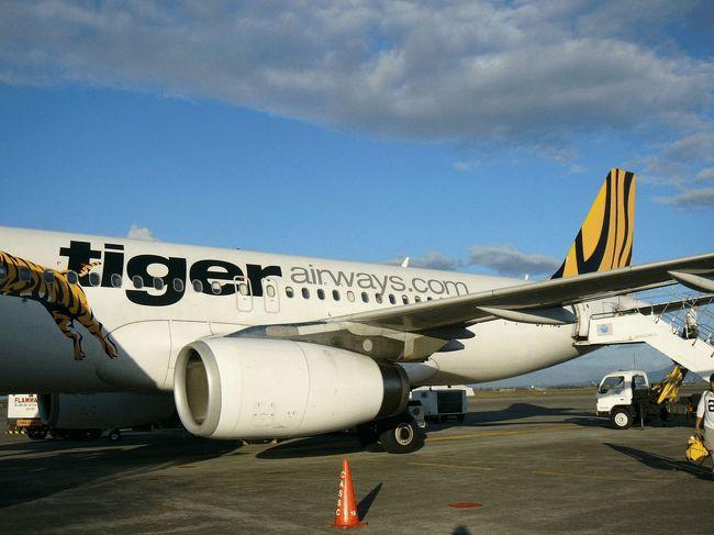 原油高になってから、海外へ行くのに大人も子供も同額で支払わなければいけない燃油税★航空会社の利益も上乗せしているようで、納得がいきませんっ!<br />燃油税¥5,000以下の航空券を探していたら、以前気になっていた格安航空会社を思い出しました。<br />そんなワケで、Tiger AirwaysとCebu Pacificの格安運賃でマカオ→フィリピン→香港へ出発!<br /><br /><br />