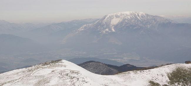 滋賀県のやま、霊仙山に登りました。
