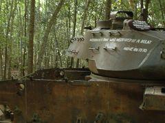 ベトナム/クチトンネル見学ツアー。