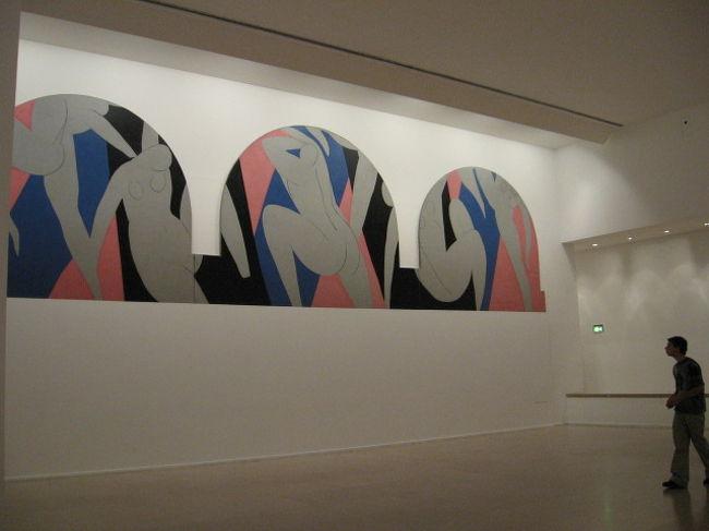 パリ市立近代美術館でマチスを見...