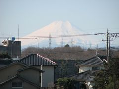 久しぶりに富士山が見られた!
