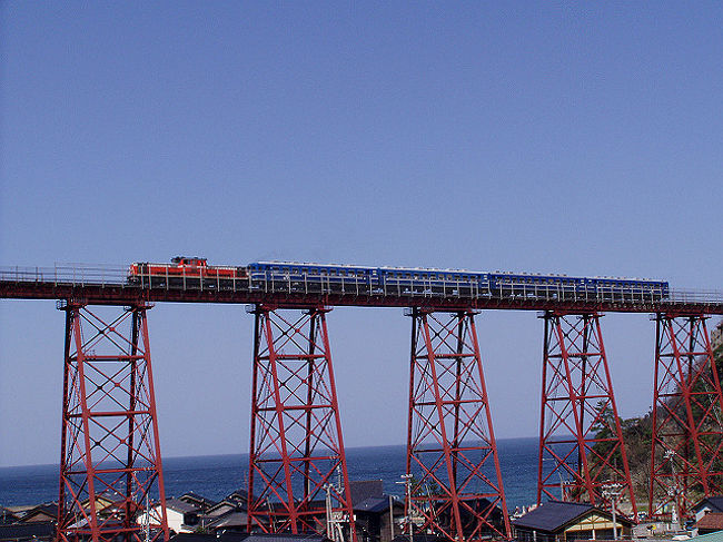 青春18切符を3日分使い、温泉とローカル線の旅をしてきました。<br />今回は、来年3月に一部区間が廃止になる島原鉄道に乗って雲仙温泉に浸かり、帰り道に餘部鉄橋に寄り道する旅です。