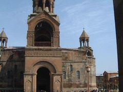 エチミジアンで大聖堂に参詣