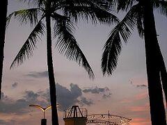 ★ルソン島、車旅(7、完)マニラ湾の夕日