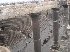 心温かい親切に助けられた黒の遺跡・ボスラ~Part1~城壁の中、ローマ劇場