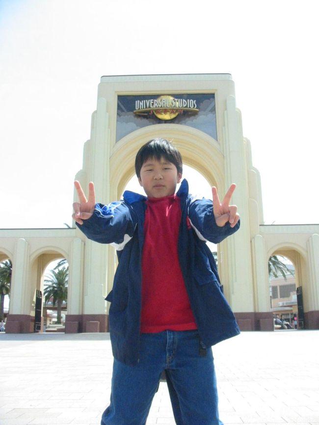 春休みにこどもと一緒にUSJへ遊びに行ってきました。