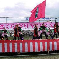 頑張れ福島!応援してます!!  春の須賀川~花見の季節に盛り上がり(*^-^*)