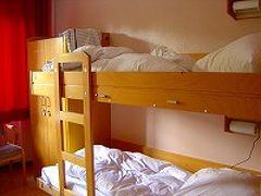 ヨーロッパのユースホステルは男女同室?